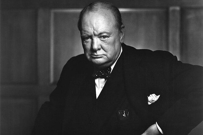 Забытую картину Черчилля продали нааукционе вгод ее столетия