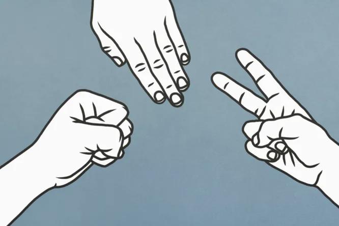Все секреты победы вигре «Камень, ножницы, бумага»