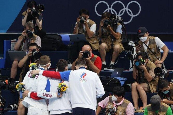 Российские пловцы завоевали золото исеребро наОлимпиаде вТокио