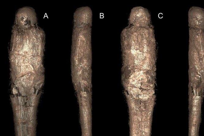 Зачем египтяне заворачивали знатных людей вкоконы изгрязи