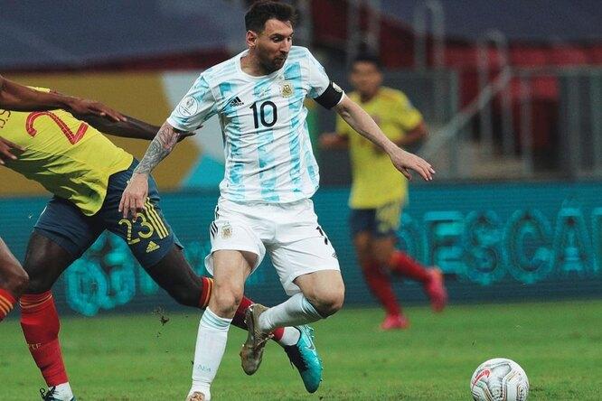 Лионелю Месси рассекли голеностоп вполуфинале Кубка Америки
