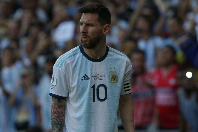 Лионель Месси установил новый рекорд поиграм засборную Аргентины
