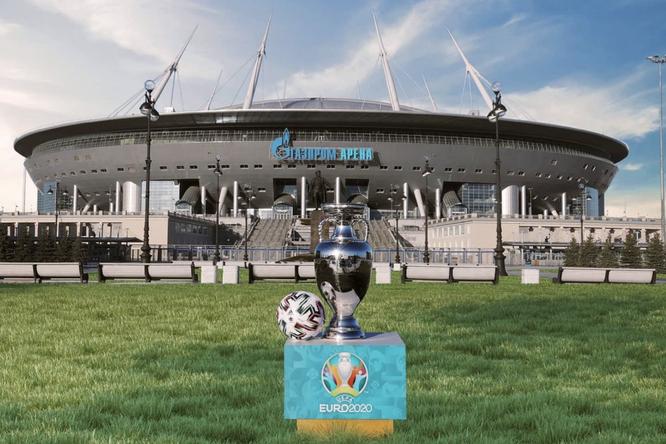 Стадион вСанкт-Петербурге наматчах Евро-2021 будет заполняться наполовину