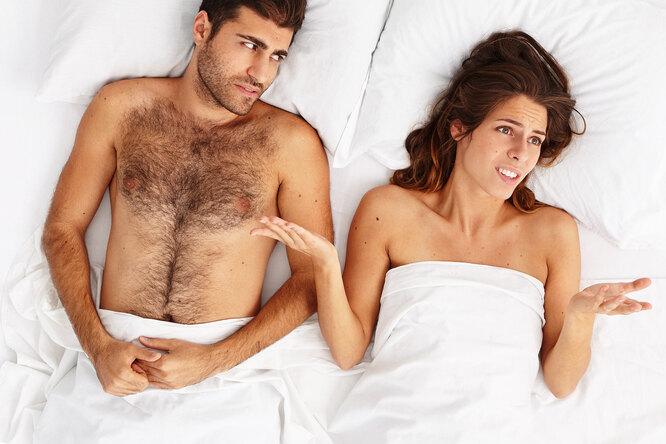 Топ-5 мужских страхов, связанных ссексом