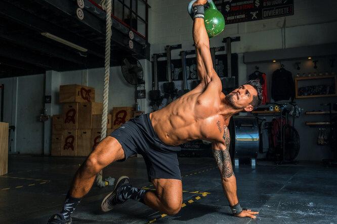 Тренировки сгирями: вчем их эффективность?
