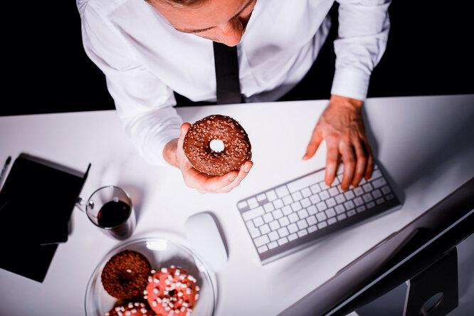 Как ненабрать лишний вес присидячей работе?