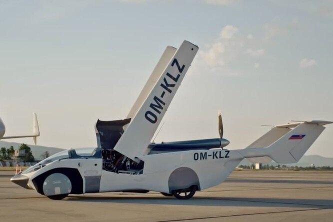 Видео: летающий автомобиль-трансформер совершил первый межгородской перелет