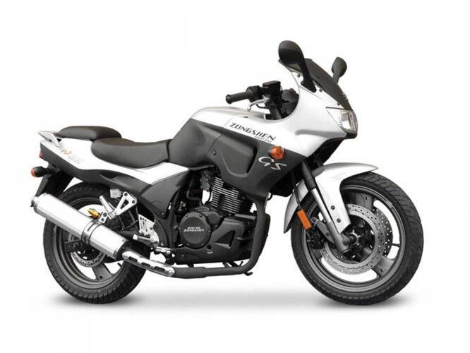 Zongshen (Чунцин). Вообще, как можно заметить, Чунцин – центр китайского мотопрома. Компания Zongshen основана в 1992 году, производит мотоциклы, квадроциклы и силовые агрегаты. На снимке – Zongshen ZS250GS.