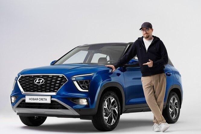 Hyundai запускает акцию длязнатоков кроссовера Creta нового поколения