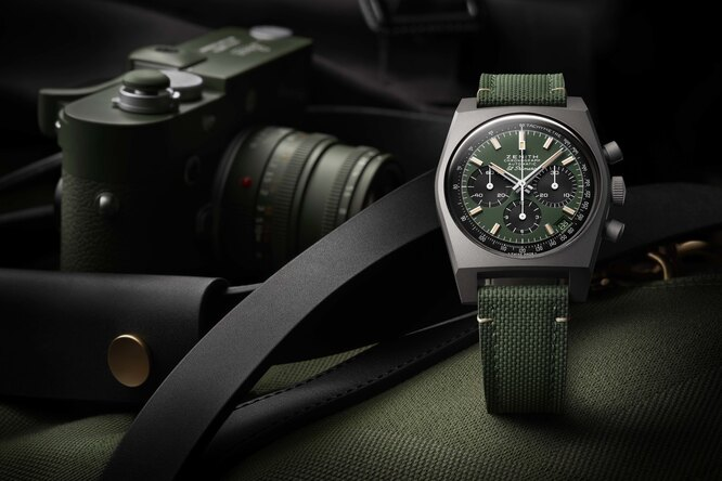 Zenith представил  Chronomaster Revival Safari — современную версию винтажного хронографа