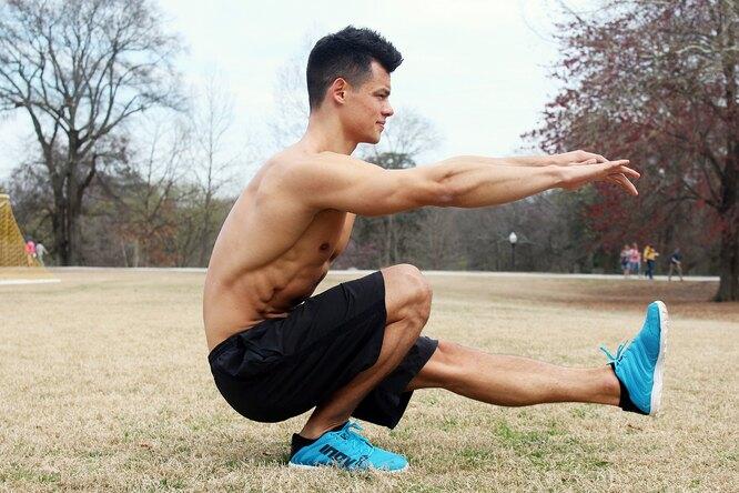 3 лучших упражнения длятренировки ног дома