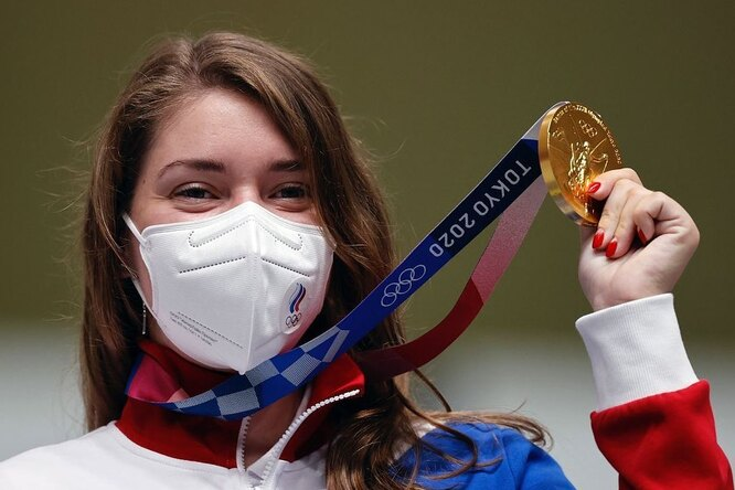 Сборная России завоевала первое золото наОлимпиаде вТокио