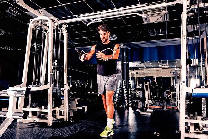 Топ-3 упражнений длятренировки мышц нижней части груди