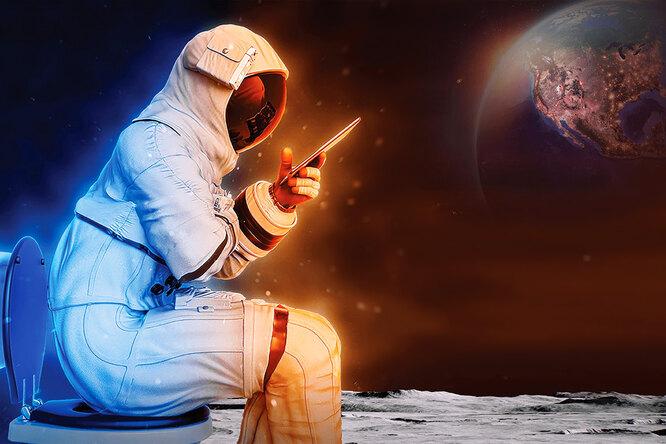 Как ходили втуалет первые космонавты?