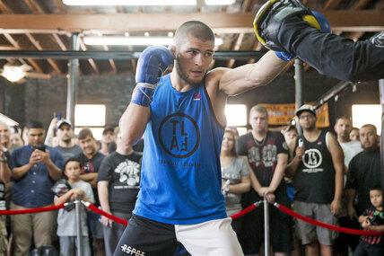 Как тренируется непобежденный боец UFC Хабиб Нурмагомедов
