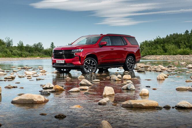 Тест-драйв Chevrolet Tahoe: зачем вам этот 5-литровый гигант?