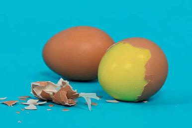 Варим яйцо желтком наружу: кулинарный эксперимент