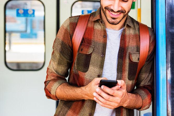 Как безопасно пользоваться смартфоном втранспорте?
