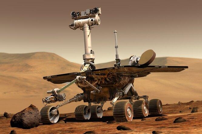 Марсоход сделал селфи спервым внеземным дроном
