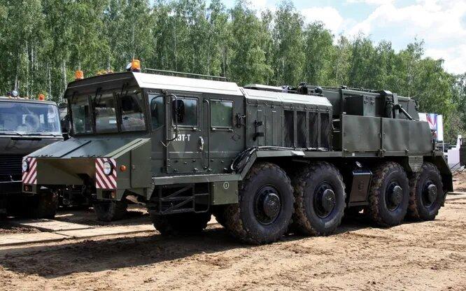 <br />КЗКТ-74281-012. Курганский завод колёсных тягачей (КЗКТ) существовал с 1950 по 2011 год и производил военную и гражданскую тяжёлую технику.<br />&nbsp;