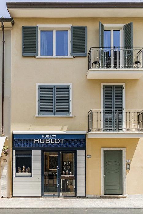 Новый бутик Hublot в  Форте деи Марми