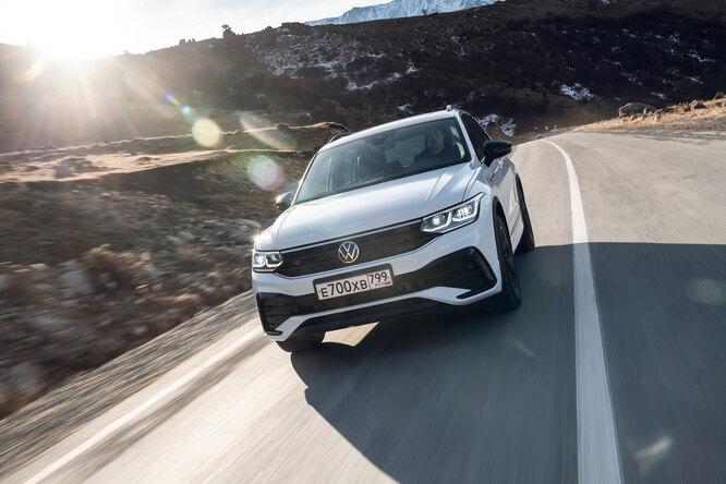 Тест-драйв VW Tiguan: вчем особенности нового поколения