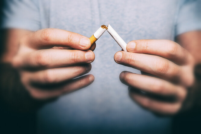Бросили курить? 5 советов, которые помогут нерасполнеть