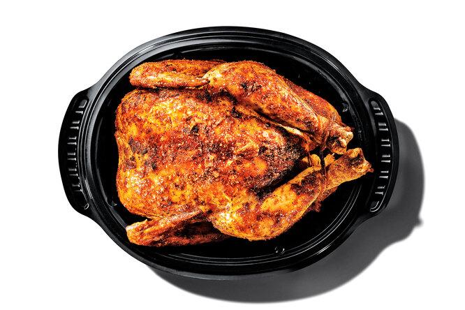 Жареный цыпленок вйогурте: простой ивкусный рецепт длясемейного обеда
