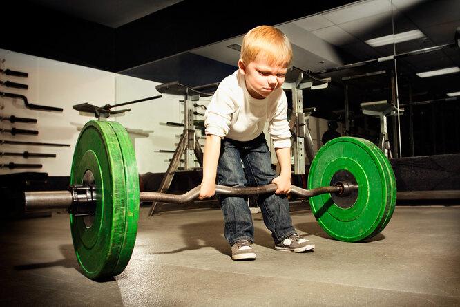 Правда ли, что силовые тренировки замедляют рост удетей?