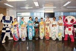 Японские дизайнеры создали уникальные кимоно длякаждой страны-участницы Олимпиады-2020