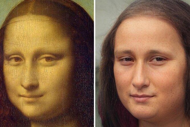 Искусственный интеллект воссоздает внешности легендарных людей: Мона Лиза иШекспир