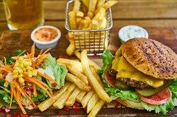 Рецепт азиатского бургера, побеждающего любые погодные напасти