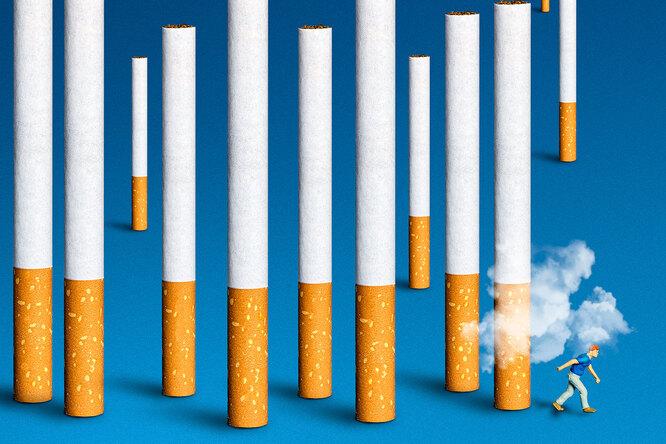 Что происходит стелом, когда бросаешь курить: наглядное видео