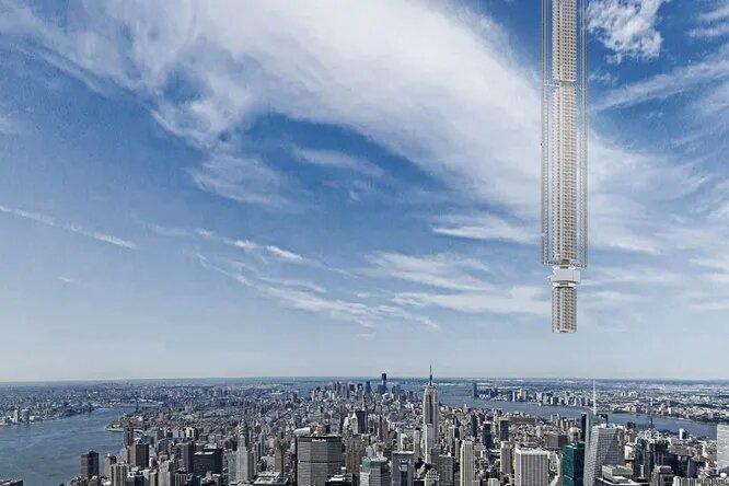 Башня-сталактит: один изсамых амбициозных архитектурных проектов