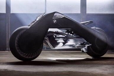 Фантастический мотоцикл будущего отBMW: ни шлема, ни руля, ни подвески