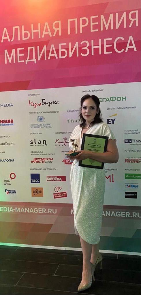 Ирина Филимонова, коммерческий директор и директор по рекламе Cosmopolitan