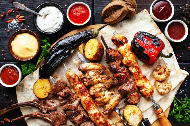 Лучшие рецепты шашлыка: что можно приготовить намангале