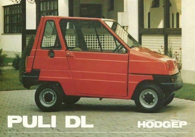 Puli – микрокар, производившийся с 1986 по начало 2000-х – сперва с бензиновым, а позже – с электрическим двигателем. Интересно, что при сборке использовались детали от Škoda, ВАЗ и Polski Fiat.