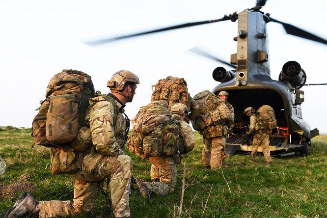 Наука побеждать: героизм «следопытов» сухопутных войск ВС Великобритании