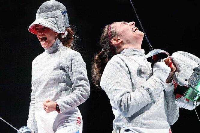Сборная Олимпийского комитета России завоевала вторую золотую медаль