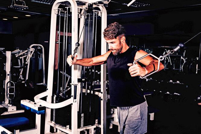 6 лучших упражнений натрицепс вкроссовере