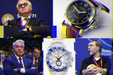Какие часы носили чиновники имиллиардеры наПМЭФ?