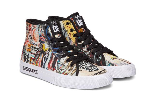 Бренд DC Shoes выпускает арт-коллаборацию поработам художника Жана-Мишеля Баскии