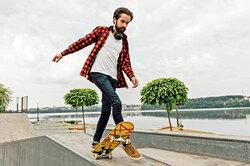 Как научиться кататься наскейте даже взрелом возрасте — изачем это делать