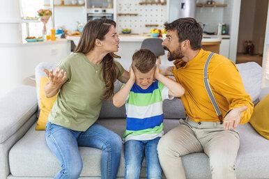 Как заспорами овоспитании детей неразрушить собственный брак
