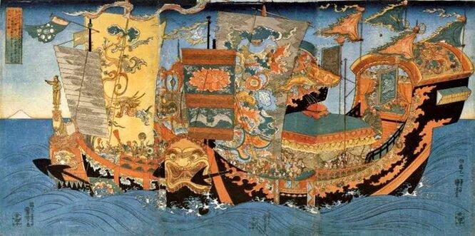Морская экспедиция, направленная Цинь Шихуанди на поиски рецепта бессмертия