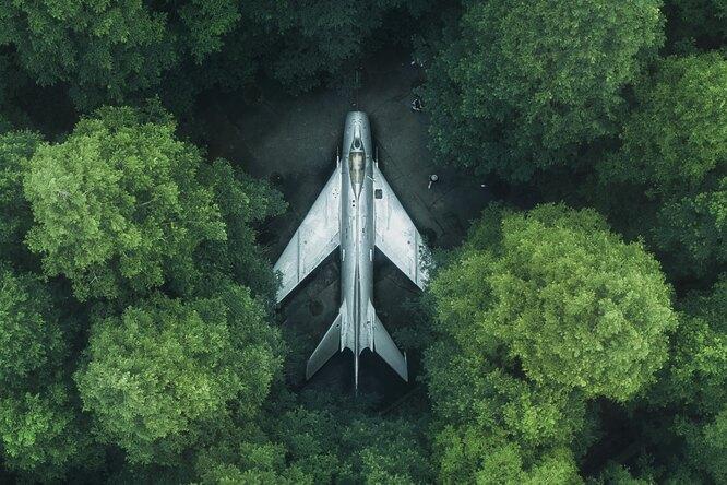 Пользователи Google Maps обнаружили накартах «самолет-призрак»