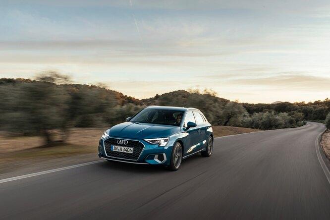 В России стартовали онлайн-продажи новых Audi A3 Sedan иAudi A3 Sportback