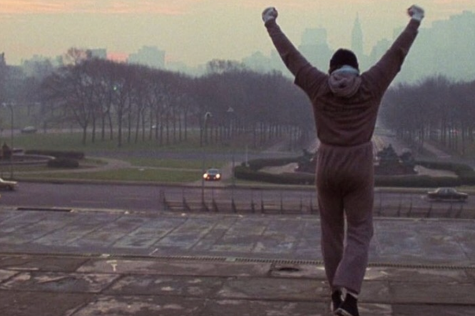 Чемпион UFC спародировал героя Сильвестра Сталлоне изфильма «Рокки»