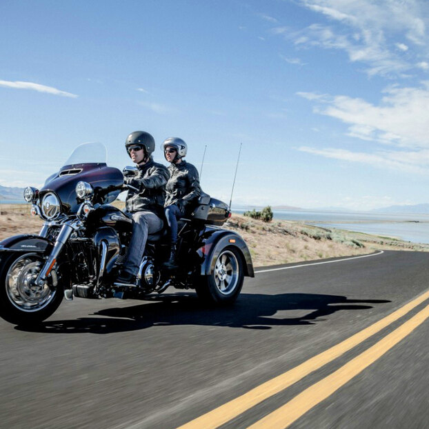 Трайк Harley-Davidson Tri Glide Ultra: тест-драйв мотоцикла дляпрезидента